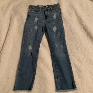 Levi's Big Girls High Rise Straight Jeans